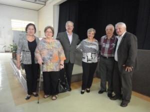 CEAK, Clara Lila, dirigentes, repres.USE-SP, com Perri e esposa Celia-mar.17