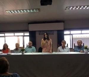 CEAL-Mesa palestra Perri com dirigentes e o fundador Villela